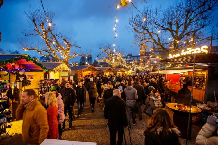 Рождественские ярмарки в Амстердам