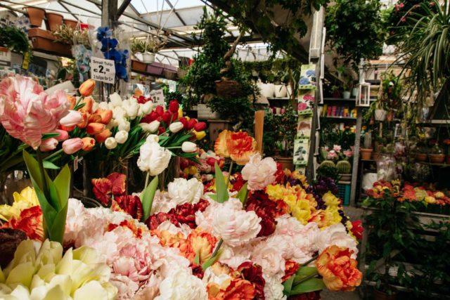 магазины цветов в Амстердаме