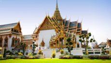 Королевский дворец и Храм Изумрудного Будды в Бангкоке