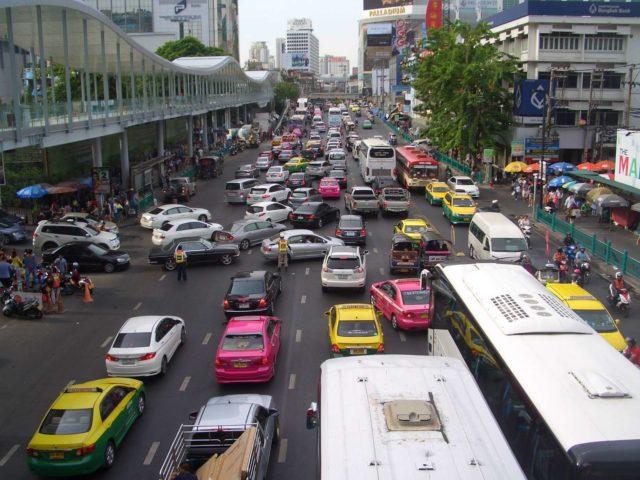 на машине из Бангкока на Пхукет