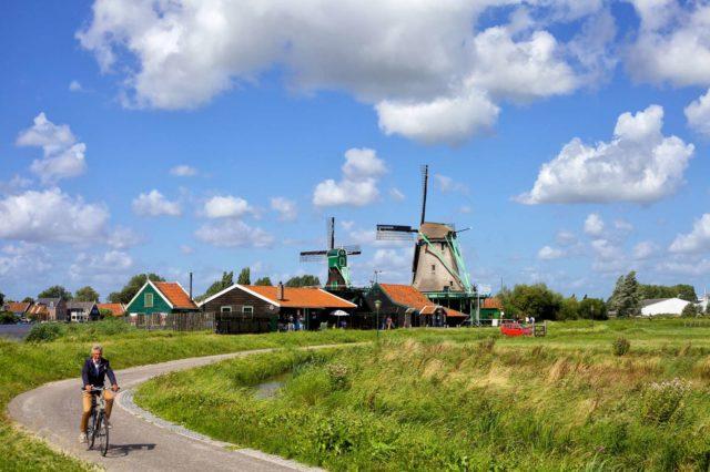 Окрестности Амстердама на велосипеде