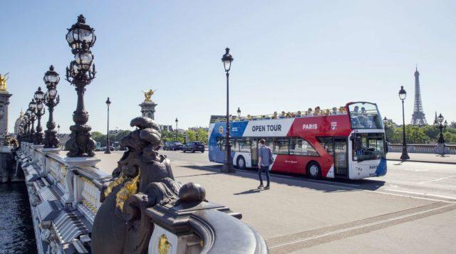 Open tour в Париже