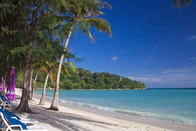 Отдых на пляже Три Транг