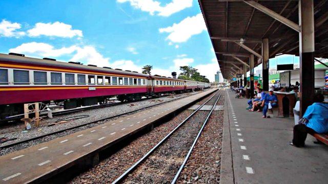 Поезд Бангкок - Пхукет