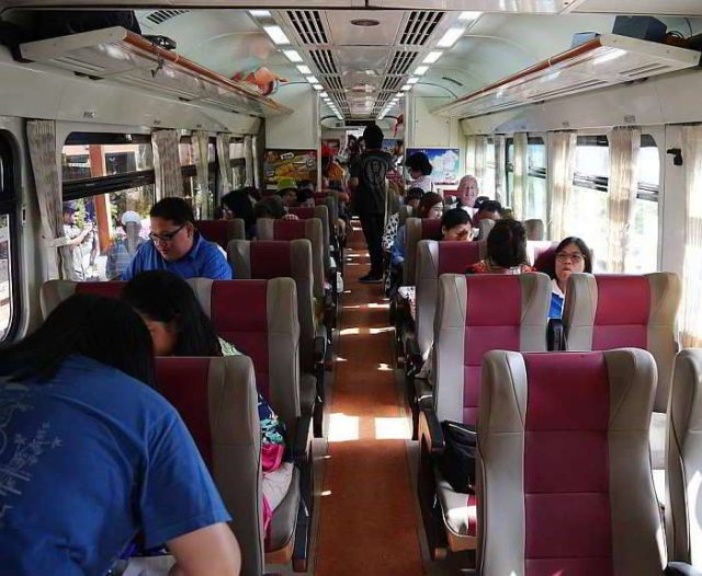Поезд Бангкок - Паттайя