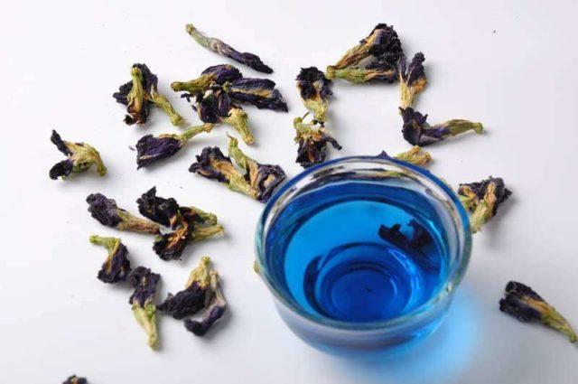 Синий чай из Пхукета