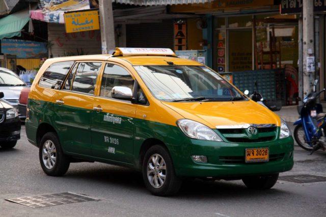Такси из Бангкока на Пхукет