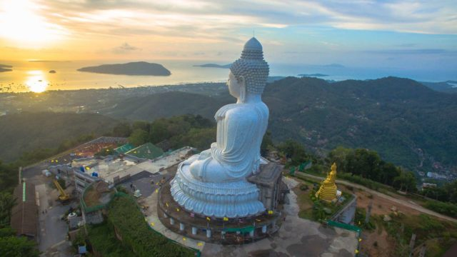 Вид на Биг Будду