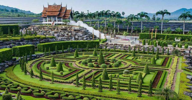 Ботанический парк Нонг Нуч в Паттайе