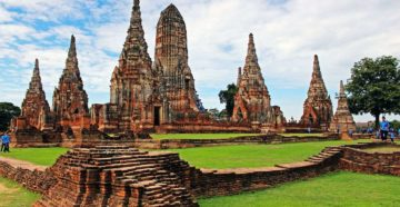 Аюттайя в Тайланде