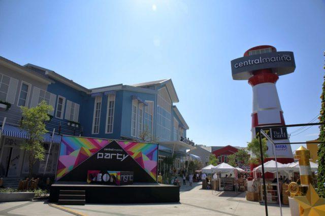 Торговый центр Central Marina