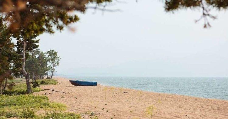 Пляж Байкальская Гавань в Гремячинске