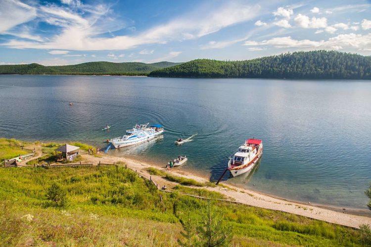 Чивыркуйский залив на Байкале