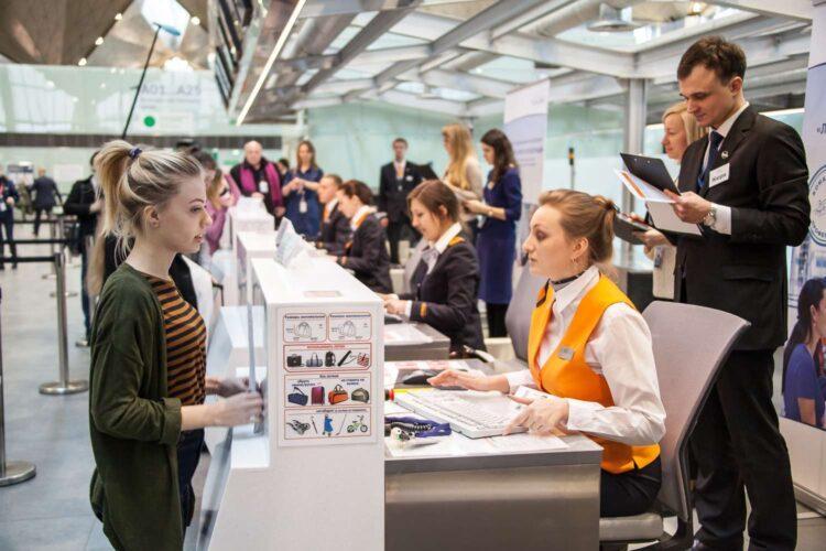 Регистрация на рейс в аэропорту Кольцово в Екатеринбурге