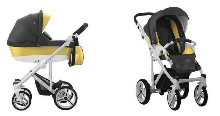 коляска для новорожденных 2 в 1 Bebetto Magnum 202